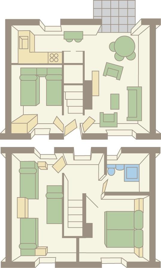 forest oak floor plan