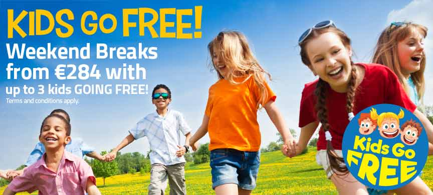 Sept Kids Go Free Weekends